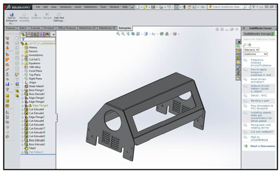 3D representation is central to a variety of the software's functions.
