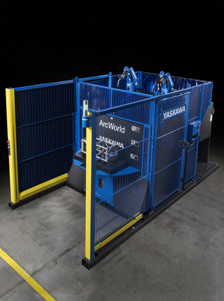 If a manufacturer is looking for a unique approach to arc welding, purchasing a standard, pre-engineered robotic workcell may be the most affordable option.