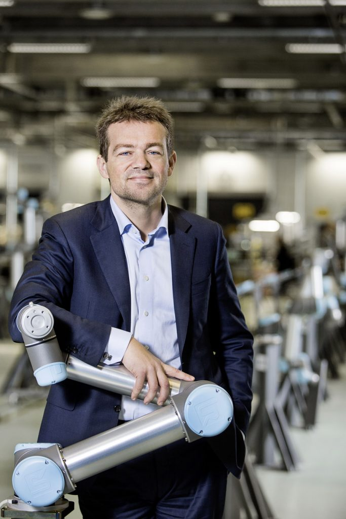 With the launch of Universal Robots in 2005, Østergaard achieved his goal of putting automation back into the hands of operators.