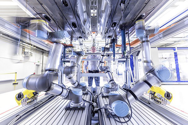 Universal Robots line of easy-to-deploy cobots is finding a home in a myriad of industries and applications, including everything from machine tending to plasma cutting.